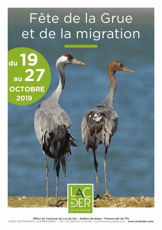 Fête de la Grue et de la migration du 19 au 27 octobre